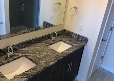 The Metropolitan apartment rental bathroom sinks
