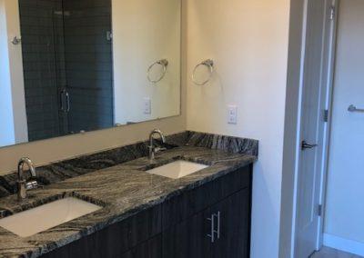 Bathroom sinks in The Metropolitan Wyomissing rental