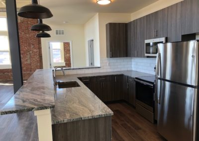 The Metropolitan apartment for rent state-of-the-art kitchen in Wyomissing, PA