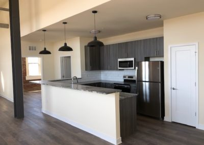 Upscale kitchen at The Metropolitan apartment for rent in Wyomissing