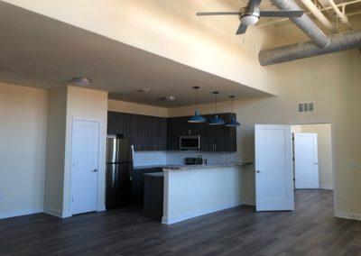Empty interior of The Metropolitan Wyomissing apartment rental