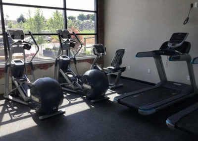 lCardio Machines in Fitness Center at The Lofts at Narrow