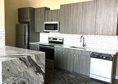 State-of-the-art kitchen in The Lofts at Narrow West Reading apartment for rent
