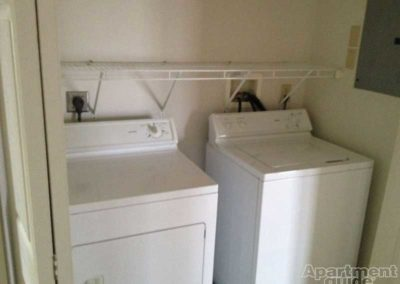 Oak Meadows in-unit washer and dryer