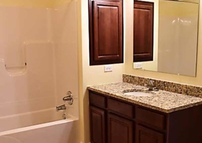 Bathroom in The Reserve at Manada Hill apartment in West Hanover