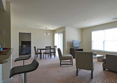 Interior of Reading apartment for rent at The Reserve at Spring Pointe