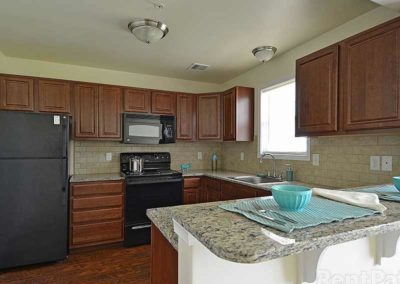 Spacious kitchen in Reading apartment at The Reserve at Sprint Pointe