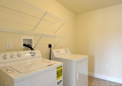 Washer and dryer in Reading apartment at The Reserve at Spring Pointe