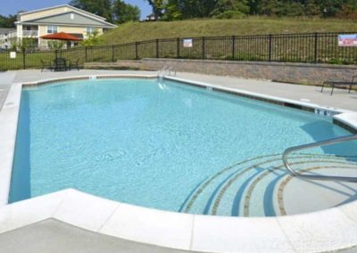 Pool at The Reserve at Spring Pointe Reading, PA apartments