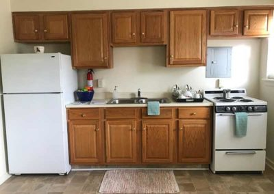 Kitchen in Wyomissing Garden apartment for rent in Reading, PA