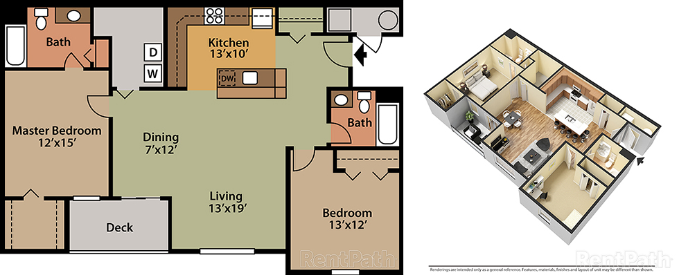 Featherton Crossing 2 Bedroom