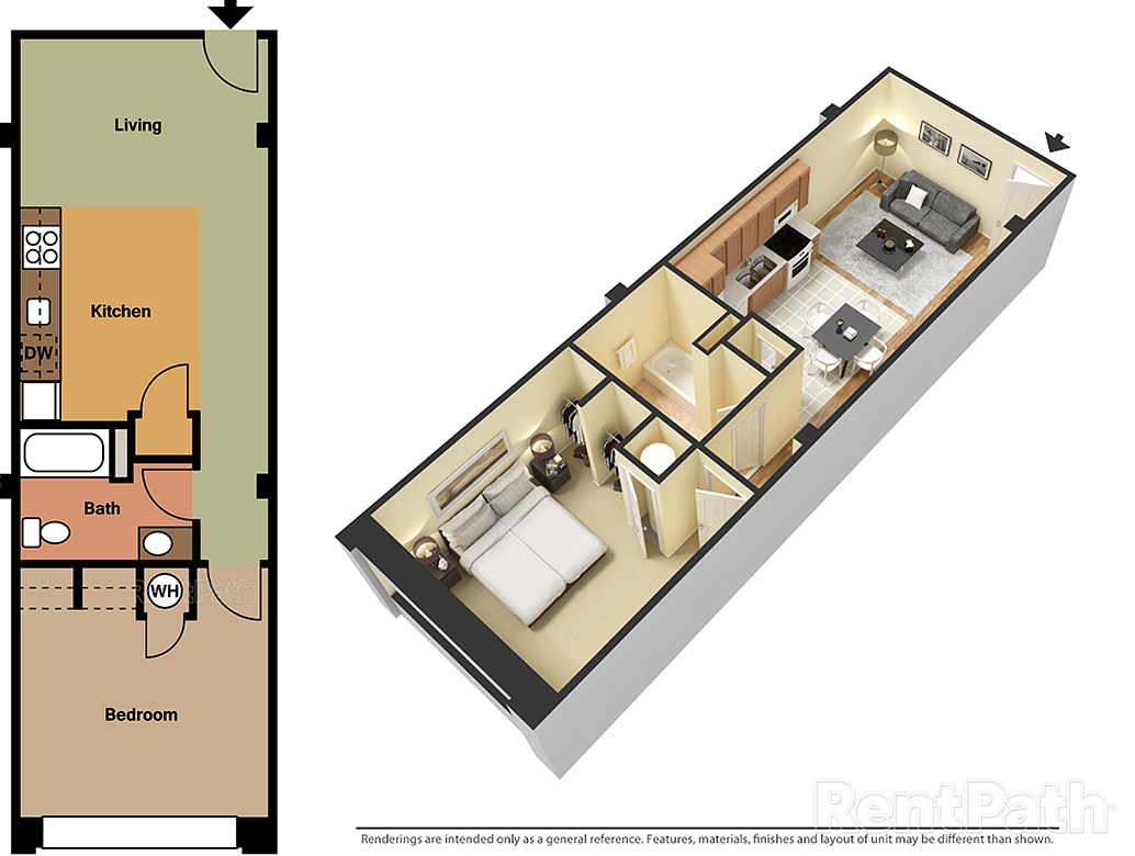 Lofts at 525 Unit 1 - 1 Bedroom