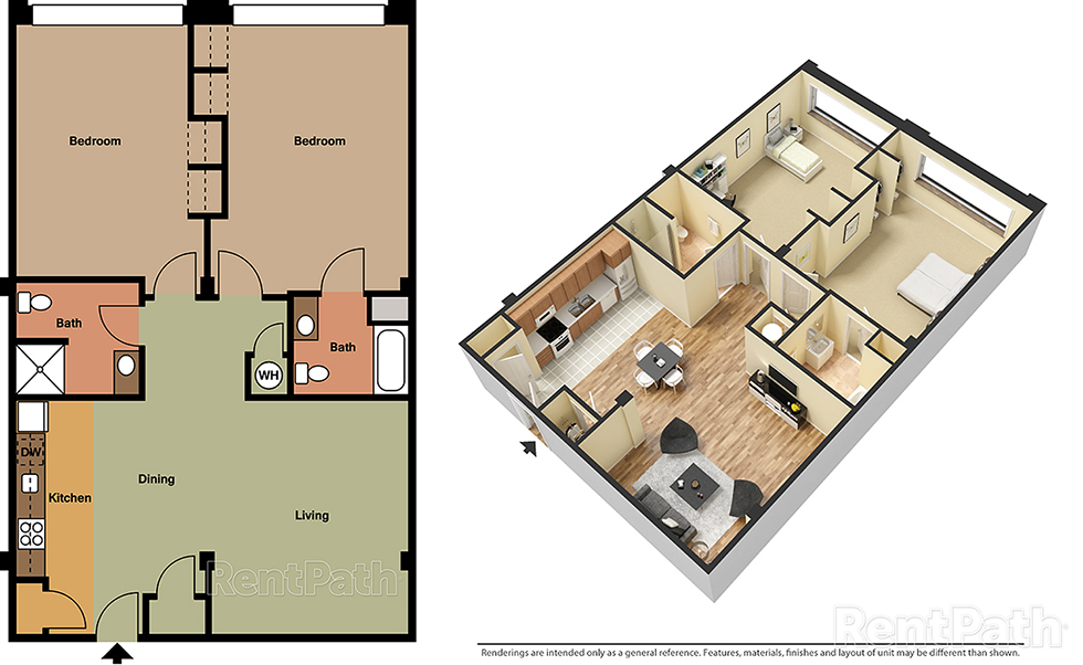 Lofts at 525 Unit 3 - 2 Bedroom