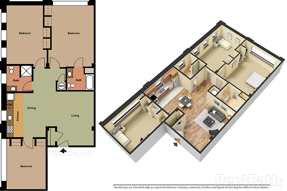 Lofts at 525 Unit 5 - 3 Bedroom