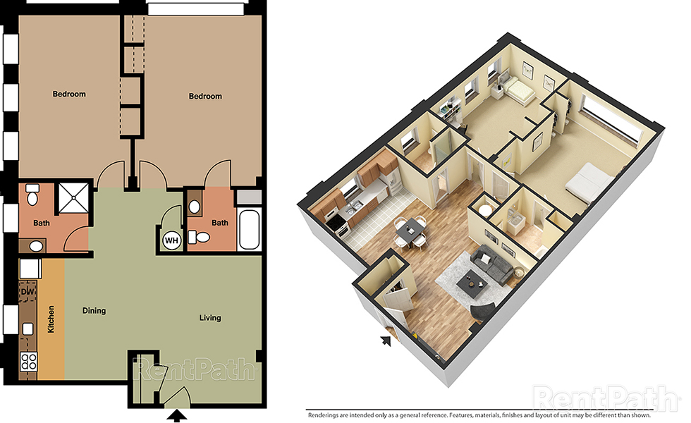 Lofts at 525 Unit 6 - 2 Bedroom