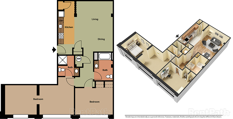 Lofts at 525 Unit 8 - 2 Bedroom