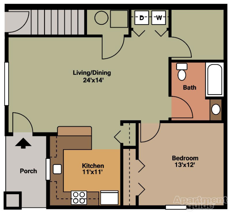 Maidencreek Village 1 Bedroom