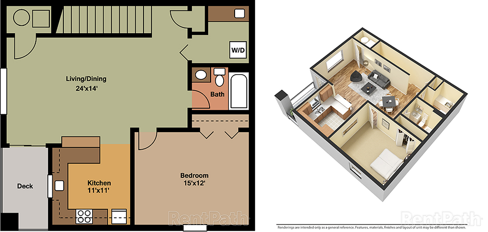 Manada Hill 1 Bedroom