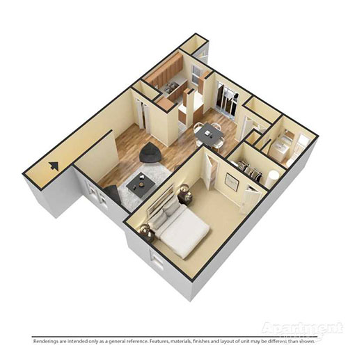 Reserve at Reed Farm 1 Bedroom Dumore