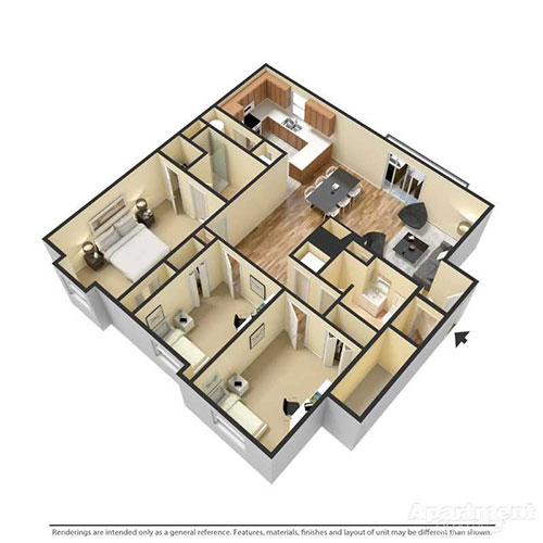 Reserve at Reed Farm 3 Bedroom Chelsea
