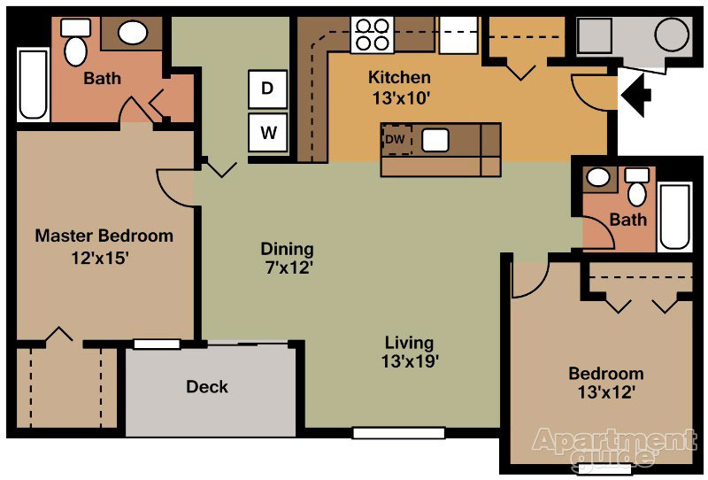 Reserve at Spring Pointe 2 Bedroom