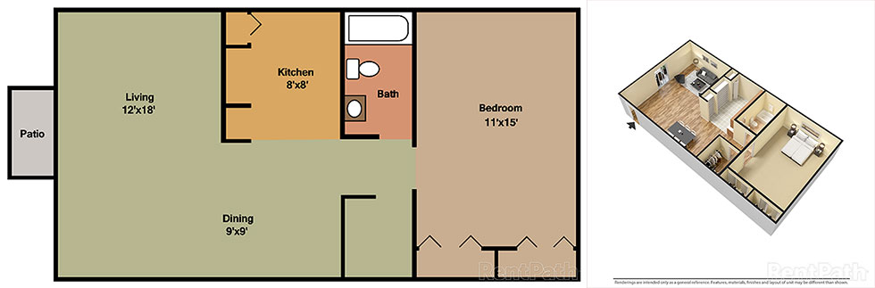 Springwood Garden 1 Bedroom