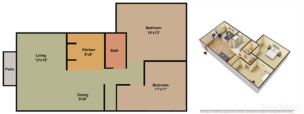 Springwood Garden 2 Bedroom