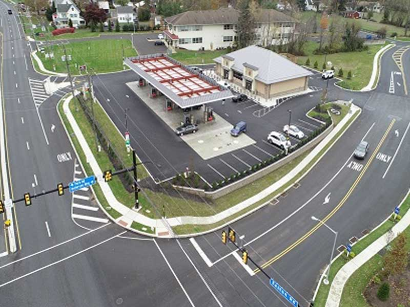 Sparta Gas Station - Metropolitan Development Group Completed Projects
