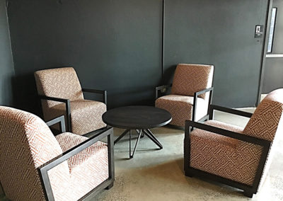 Interior lounge at The Lofts at Narrow West Reading rentals