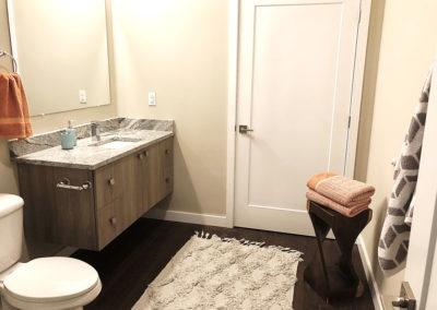 Bathroom in The Lofts at Narrow apartment for rent in West Reading