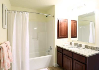 Bathroom in West Hanover rental at The Reserve at Manada Hill